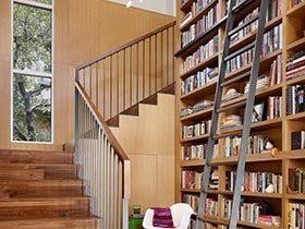 大面积知识  10个改造书架墙面实景图