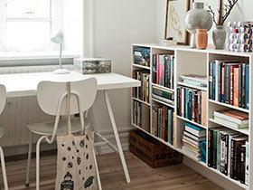 11个书房书架设计图 解决小书房收纳难题