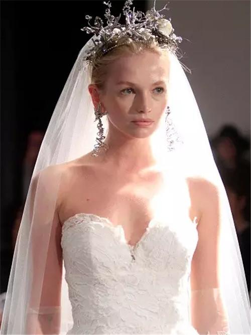 修饰脸型的新娘发型图片 新娘如何根据脸型选择