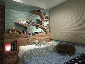 独特背景  10个卧室背景墙图片