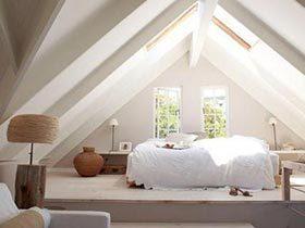 屋顶上的美景  11个阁楼卧室实景图