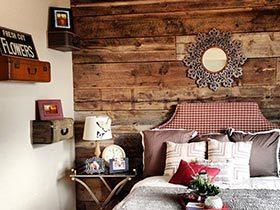 创意在前  10款卧室床头背景图片