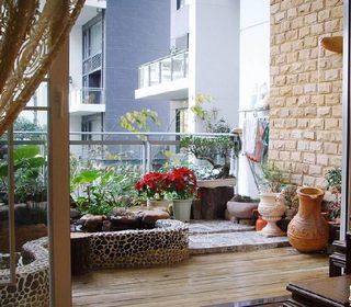 阳台改造小花园图片