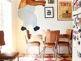 五彩吃货家  10款餐厅色彩搭配图片