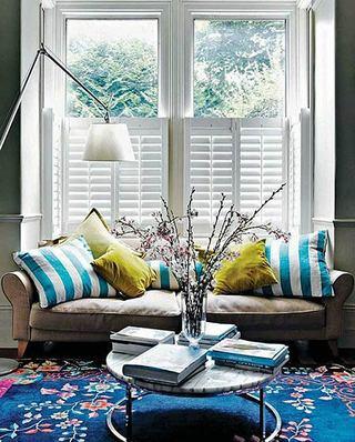 客厅双人沙发装饰图