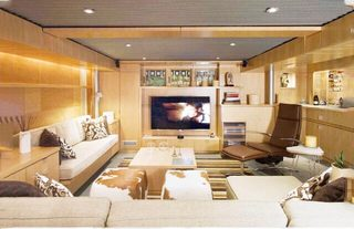 现代风电视背景墙收纳图