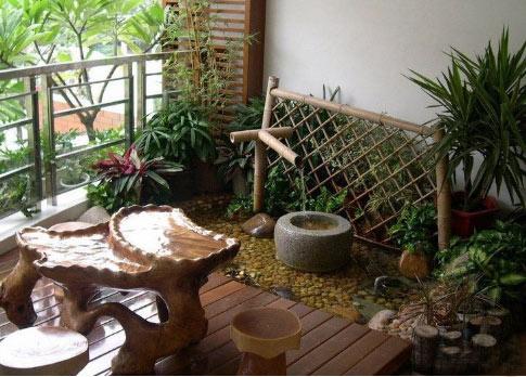 最美的阳台花园景观设计效果图  小编都惊呆了!