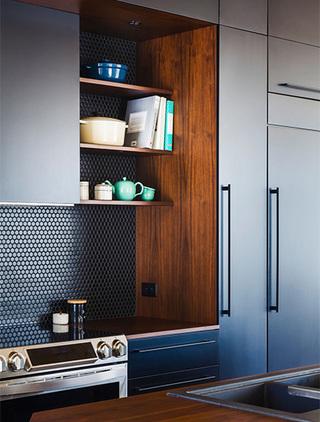 厨房墙面砖设计实景图