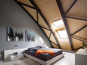阁楼有佳人  10个阁楼卧室装修效果图