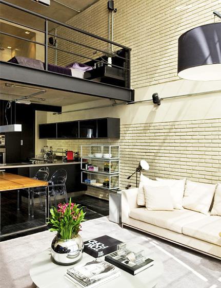 混搭风格客厅装修装饰效果图