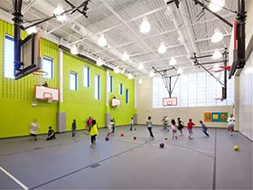 小型体育馆建筑装修效果图