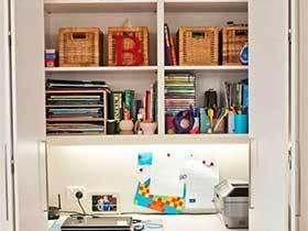 最佳组合  10个衣柜书房设计装修图