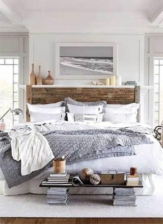 北欧风卧室装修装饰图片