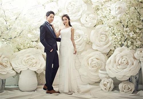 韩国婚纱照_韩国明星婚纱照