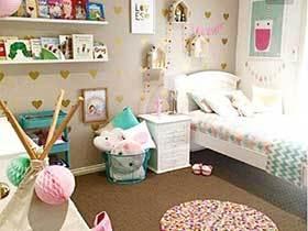 美丽的梦  10个甜美儿童房装修图