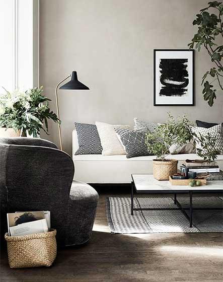 北欧风格客厅装修装饰效果图