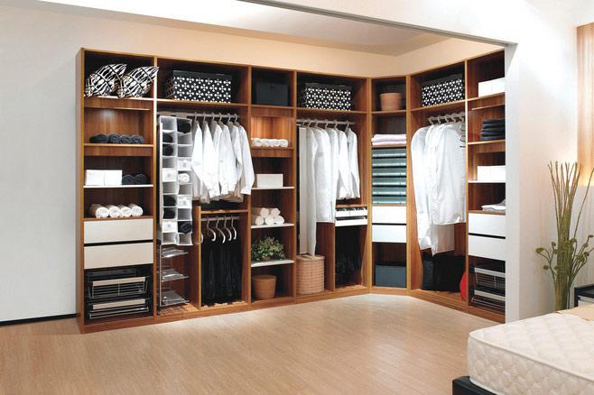 卧室整体衣柜装修设计