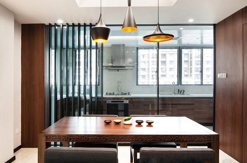 138平新中式风格餐厅吊灯图片