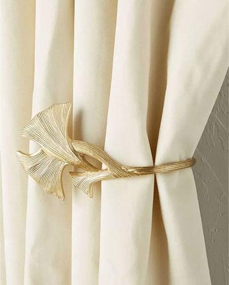 精致窗帘挂钩装饰设计