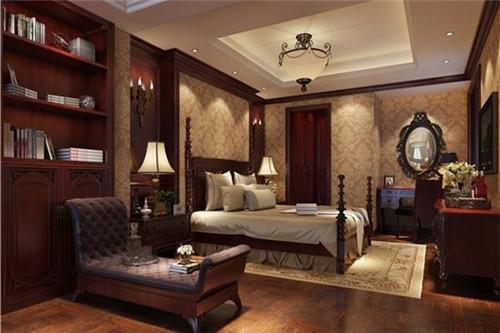 美式房间装修效果图 5千元打造超值美式房间