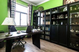 146平美式风格二居书房装修设计
