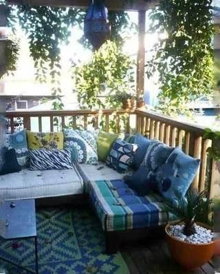 花园阳台设计欣赏图