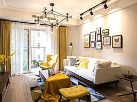 80平北欧风格三室两厅装修 向日葵的光芒