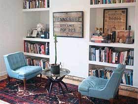 故事里的家  10款复古风书房实景图