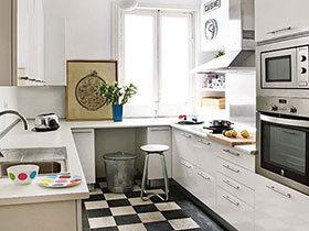 10个清爽白色厨房装修效果图 夏天做饭也不怕