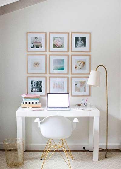 家庭小书桌设计实景图