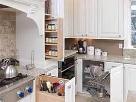百变魔术厨房  10款厨房收纳设计图
