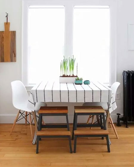 小户型餐厅桌布设计效果