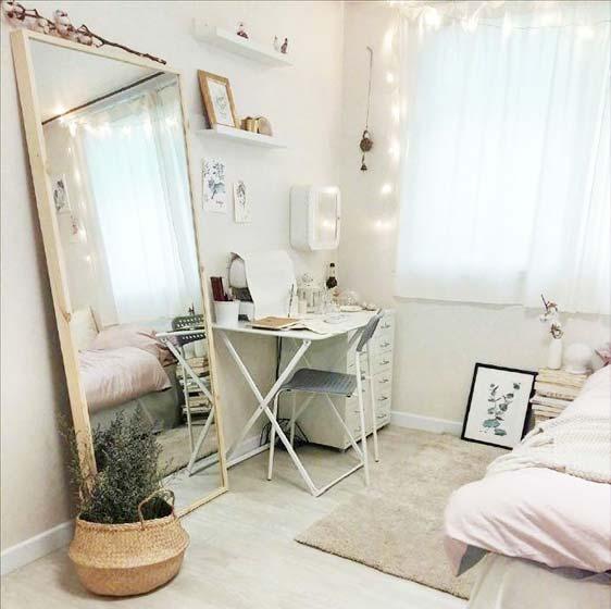 出租屋卧室改造书桌图片