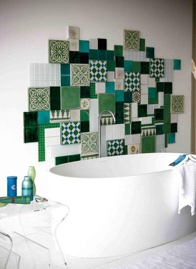 卫生间个性瓷砖设计图