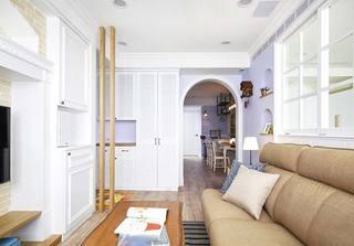 美式风格一居室客厅图