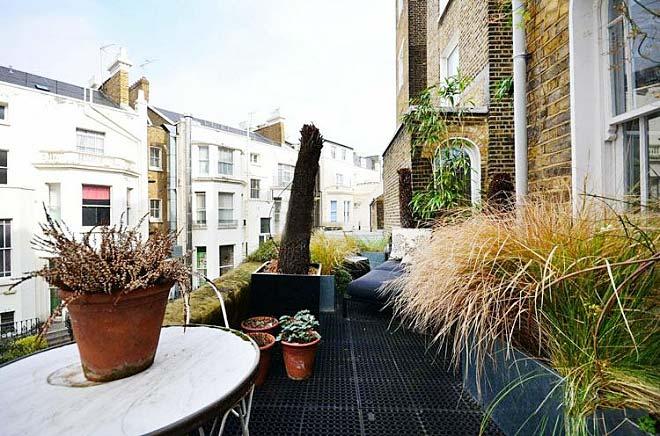 阳台花园设计平面图