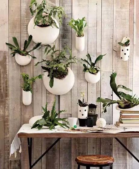 植物背景墙设计平面图