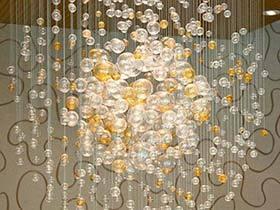 会吐泡泡的灯  10款气泡吊灯实景图