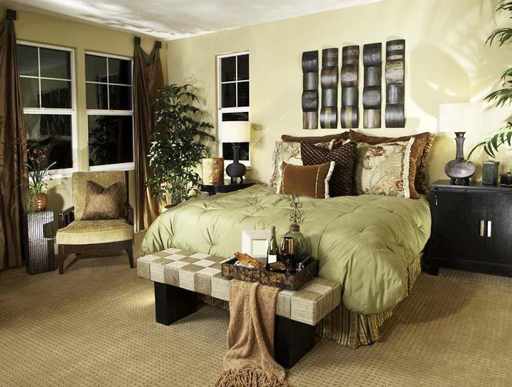 植物卧室设计装修效果图