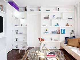 30㎡简约风格单身公寓图    放大镜的房屋