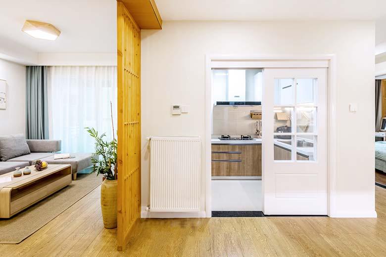 90㎡日式两居室过道平面图