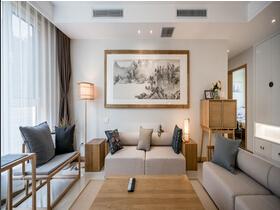 三室两厅大户型装修 原木风清新的味道