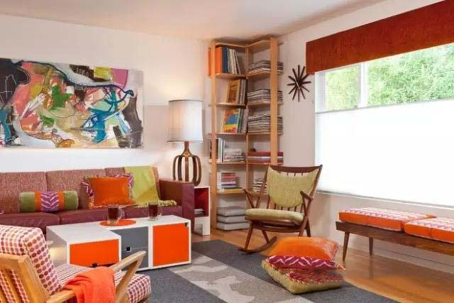 客厅书架墙装修图片大全
