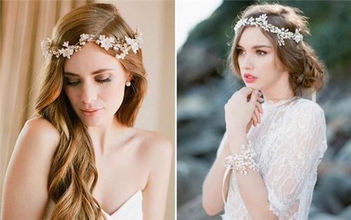 新娘发带怎么戴好看 可爱又迷人的双马尾发带造