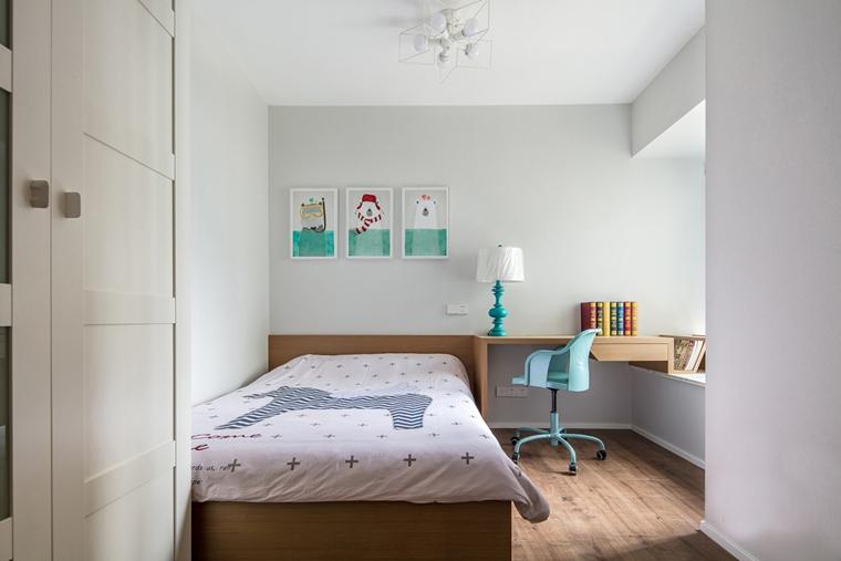 80平宜家风格装修儿童房效果图