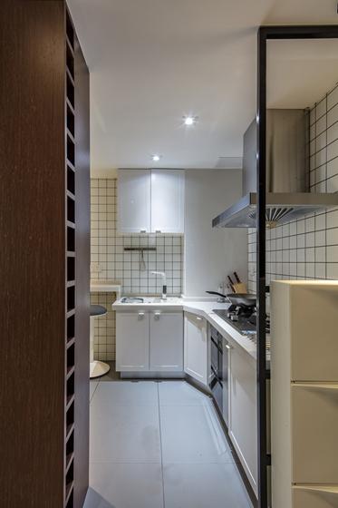 80平宜家风格装修厨房效果图