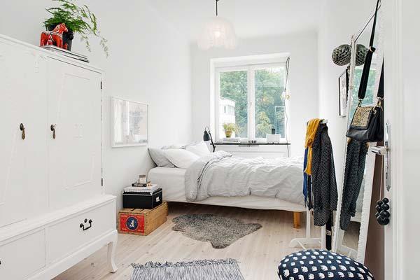 北欧风卧室图片大全