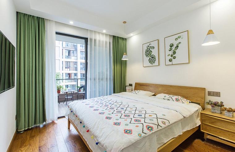 现代简约风格公寓装修卧室效果图