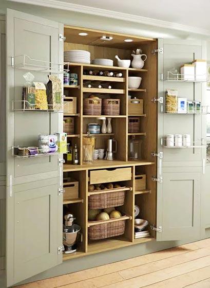 厨房收纳柜装修效果图