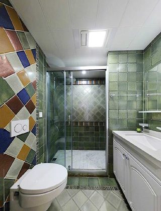 卫生间装修布置图